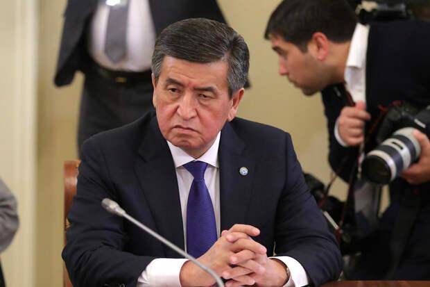 В Киргизии не знают, где находится президент Жээнбеков