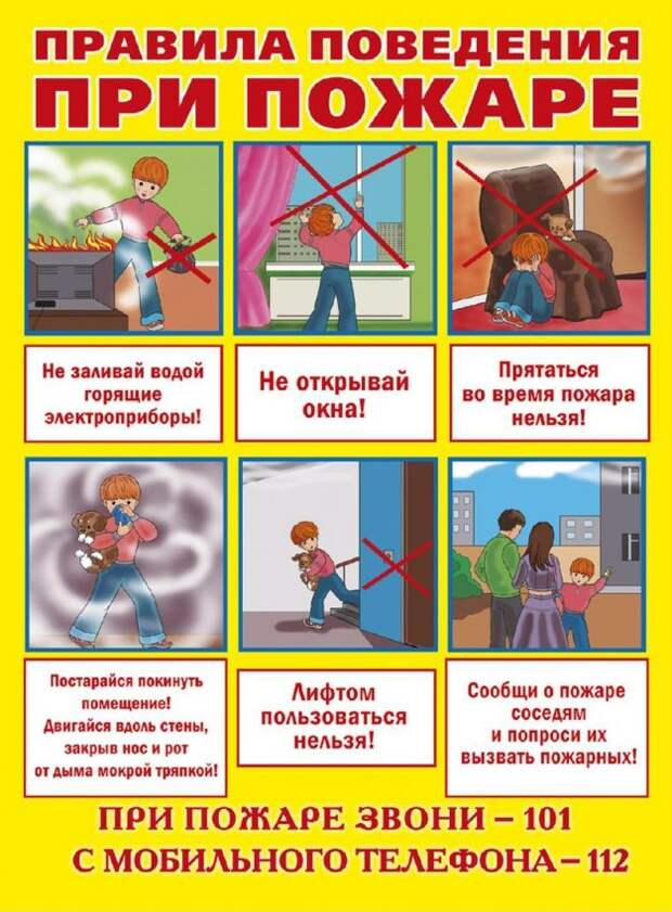 Информация для жителей Бескудниковского района о соблюдении правил пожарной безопасности