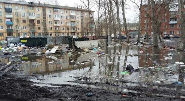 Хотела было порадоваться весне, но потом вспомнила, что в Омске она выглядит вот так