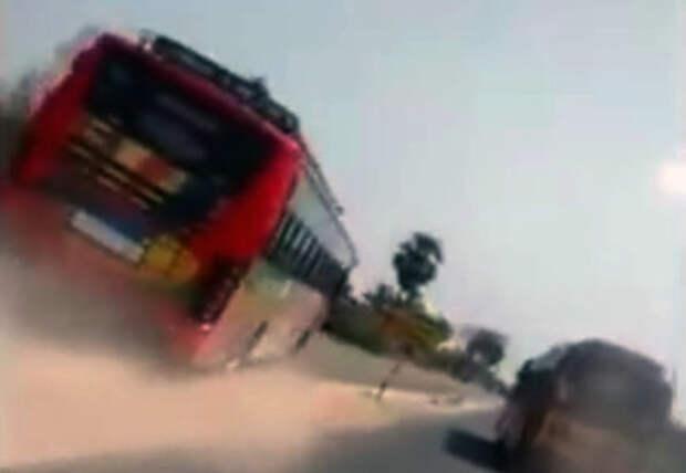 «Форсаж» в реальности: адские гонки на автобусах