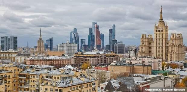 Собянин выступил с ежегодным отчётом о работе. Фото: М. Денисов mos.ru