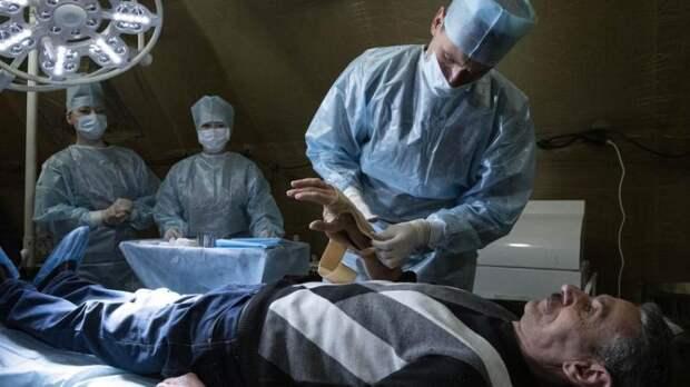 Российские военные врачи протянули руку помощи Нагорному Карабаху