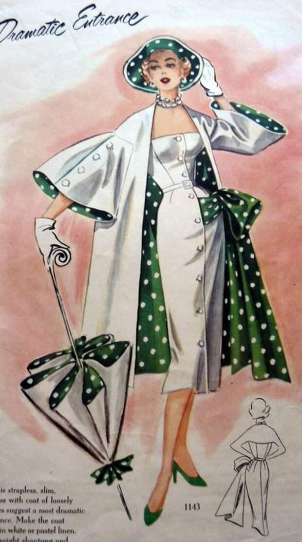 Ретро модели нарядных платьев (подборка)