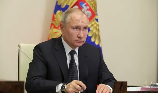 Владимир Путин объявил дни с1 по10мая нерабочими