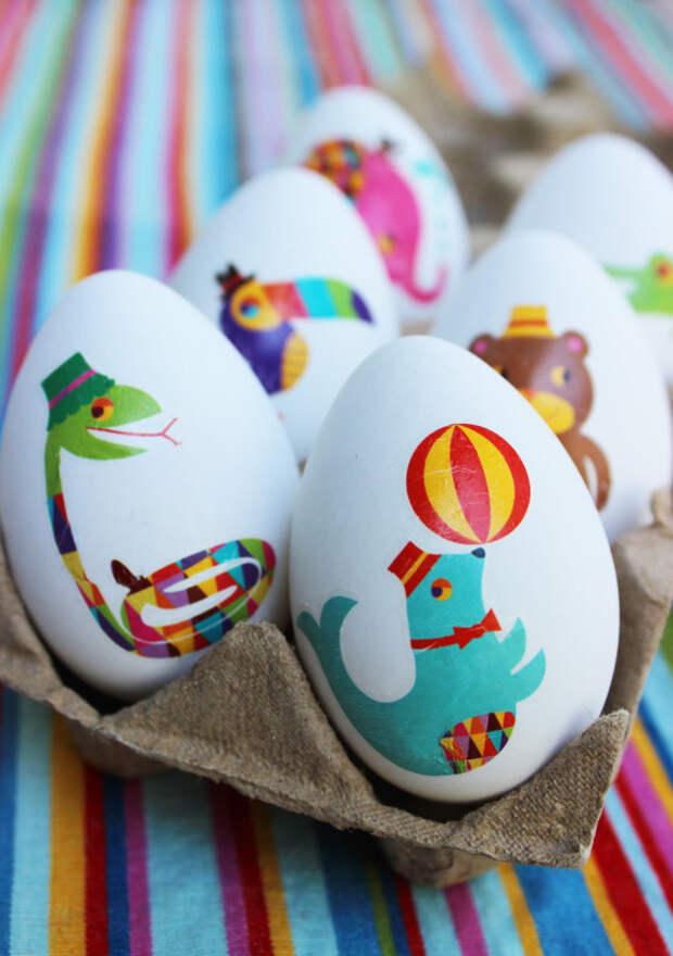 Наклеивание картинок пасха, пасхальное яйцо