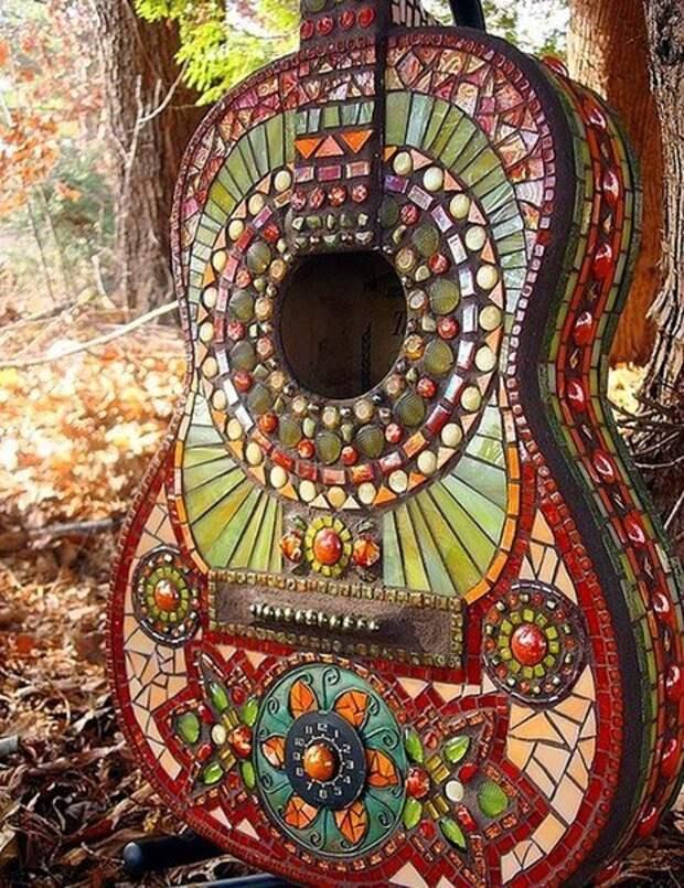 Мозаичная гитара