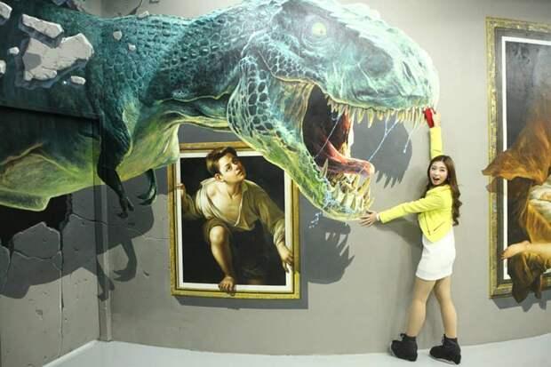 Интерактивный 3D-музей на Филиппинах позволяет посетителям стать частью искусства