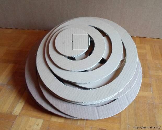 Кошкин домик из картона. Мастер-класс (40) (699x562, 203Kb)