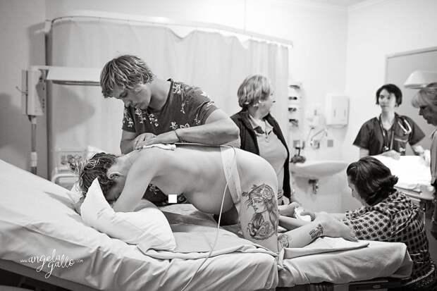 Фотографии, запечатлевшие чудо рождения