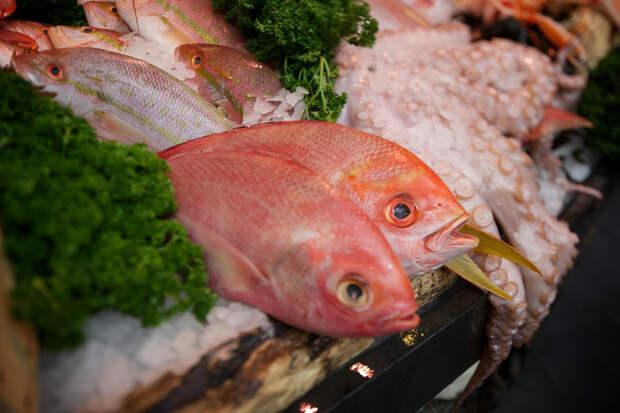 Рыба и морепродукты на рынке Боро. (Aurelien Guichard)