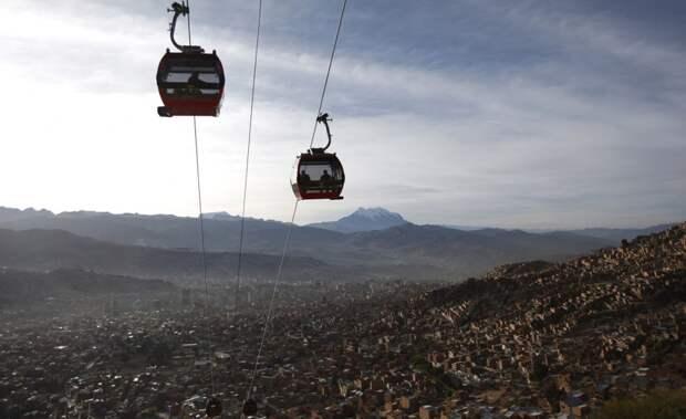 Высочайшая в мире канатная дорога в Ла-Пасе