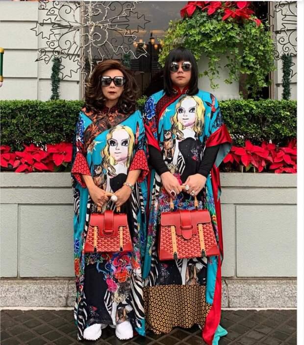 Наодной волне: мать исын изТаиланда надевают одинаковые наряды