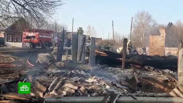 Власти объявили траур после гибели пятерых детей в Свердловской области