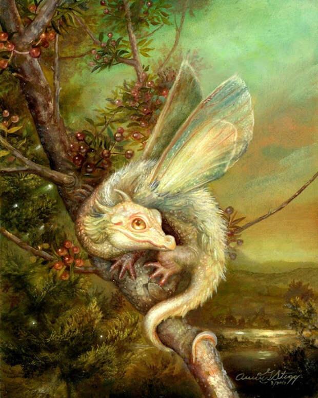 Русалочки, лесные нимфы, сказочные и мифические существа в живописи Энни Стегг Джерард (Annie Stegg Gerard)