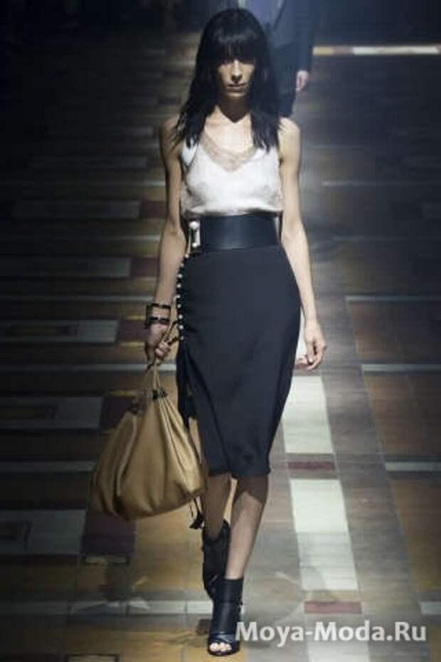 Модные юбки весна-лето 2015 Lanvin