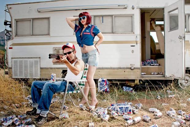 09 White trash (США)