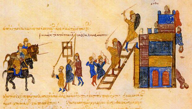 Варяго-русская и варяго-английская дружина в Константинополе XI и XII веков. Глава 10