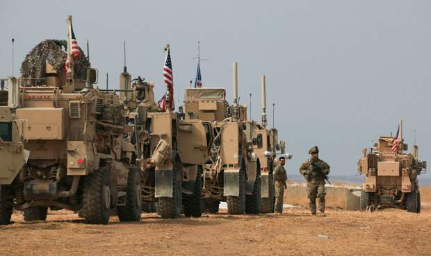 Иранская армия заблокировала американские войска в восточной Сирии