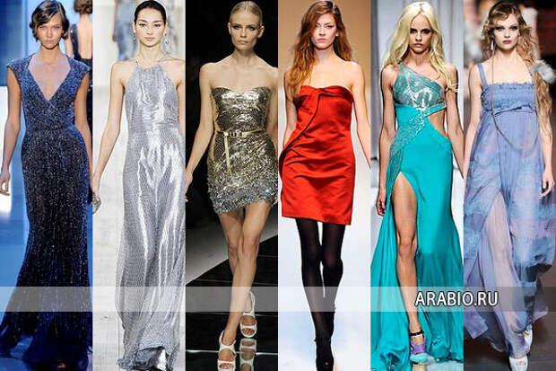 В чем встречать новый год 2012 - одежда, платья