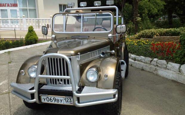 Пять необычных ГАЗ-69 выставили на продажу. Среди них золотой кабриолет. Недешево!