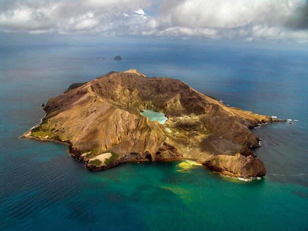 7. Факаари, Новая Зеландия в мире, озеро, природа