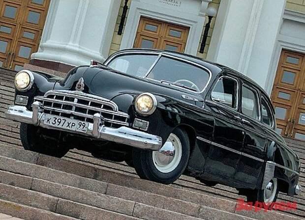 ГАЗ-12 ЗИМ: партийная кличка