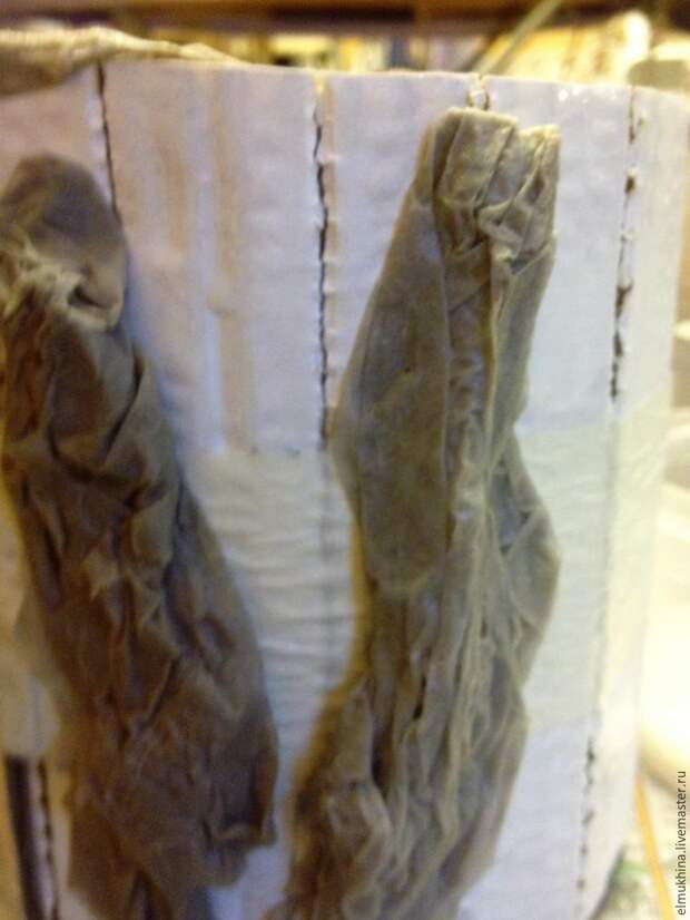 Мастерим настоящий лесной пень из подручных материалов