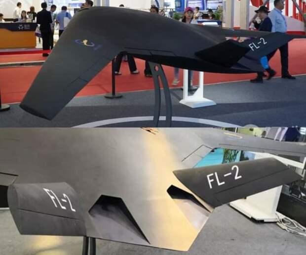 Почти «Охотник»:в Китае показали тяжёлый БПЛА Feilong-2