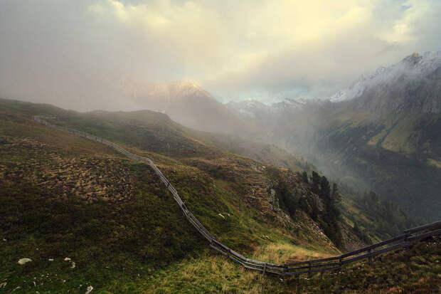 Покорение Альп летом и осенью