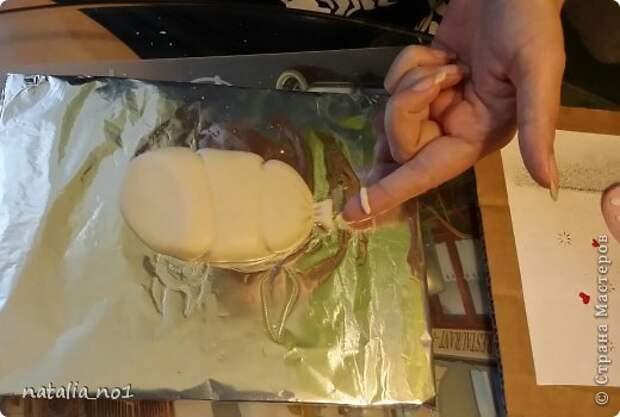 Мастер-класс Поделка изделие Лепка Кот на колбасе - Мастер класс Тесто соленое фото 12