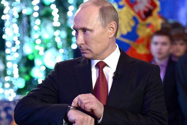 Украинцы в новогоднюю ночь смотрели Путина вместо Зеленского
