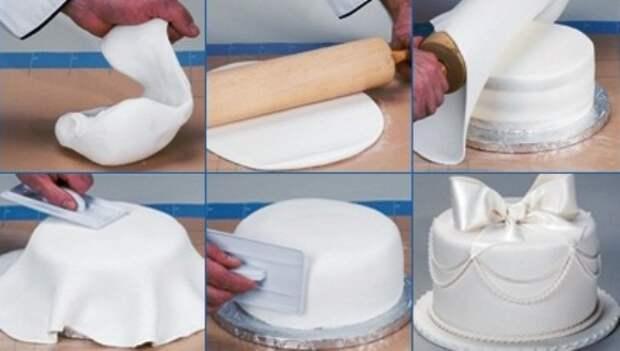 Как сделать мастику из маршмеллоу