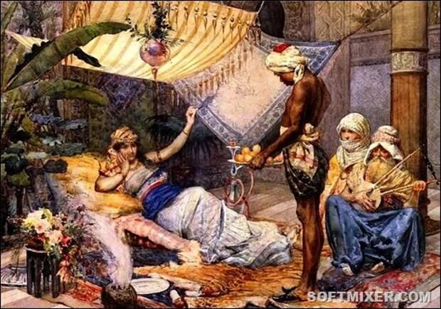 Евнухи – блюстители ложа