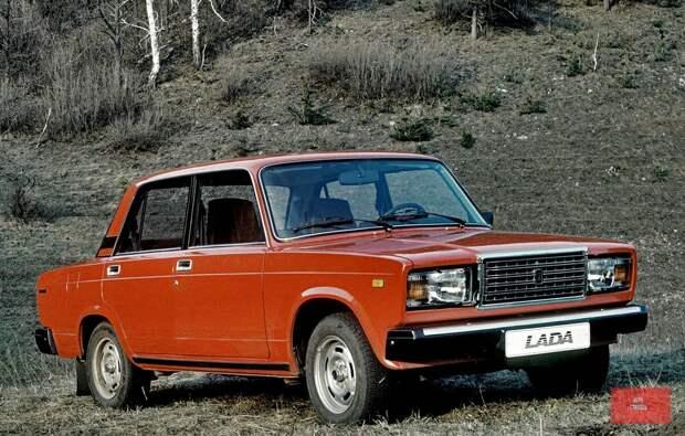 Народный автомобиль взявший начало в СССР. ВАЗ-2107, история народного автомобиля.