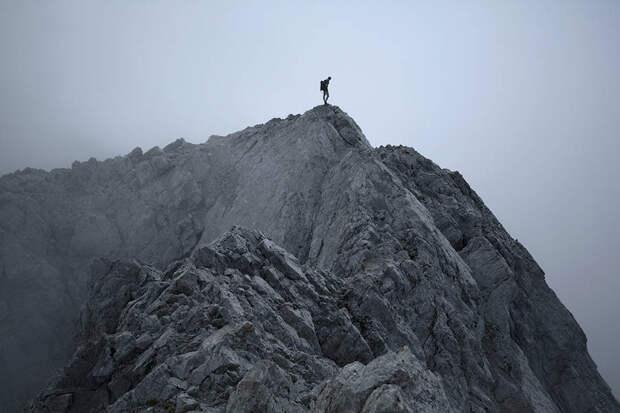 Прогулка по горному хребту Французских Альп