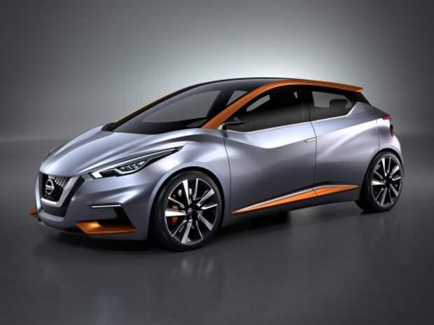 Nissan представил Sway - будущее европейских компактных хэтчбеков
