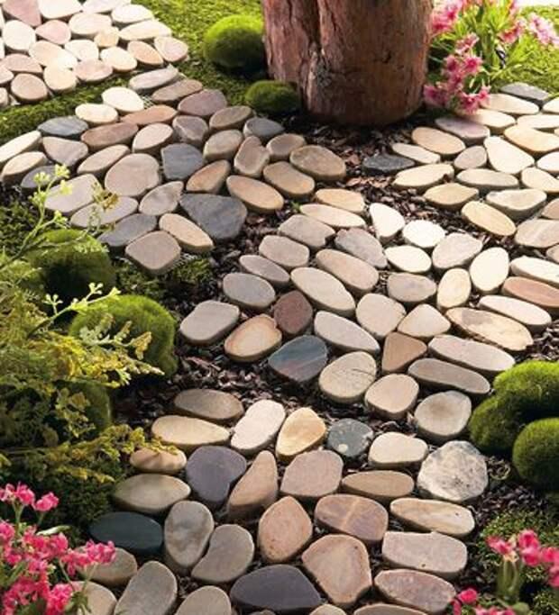 Stone Garden Path Mats