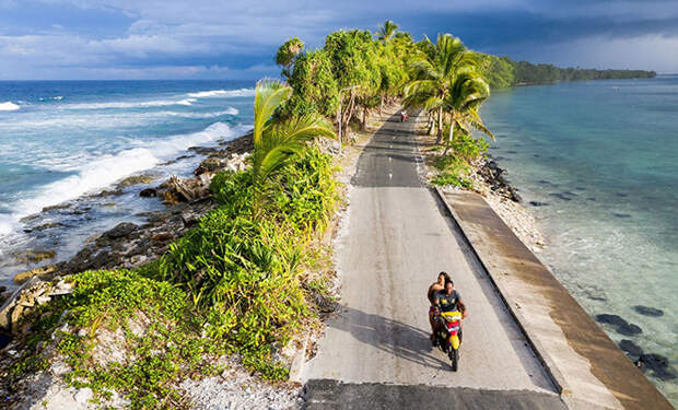 Острова Тувалу: государство шириной 20 метров, которое скоро превратится в подводное царство
