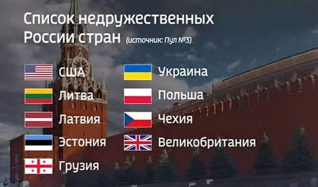 Финны высказались о российском списке недружественных стран