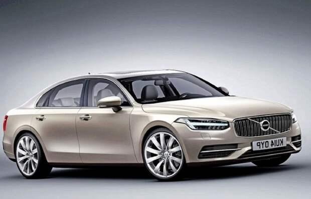Новый седан Volvo.