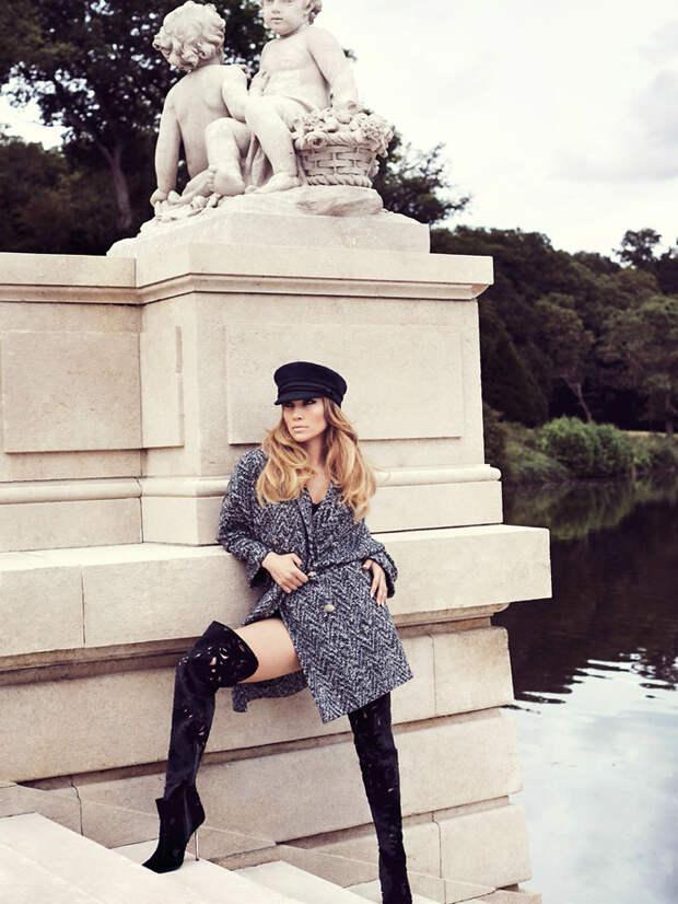 Дженнифер Лопес (Jennifer Lopez) в фотосессии Ткзема Йесте (Txema Yeste) для журнала ELLE UK (октябрь 2014), фото 3