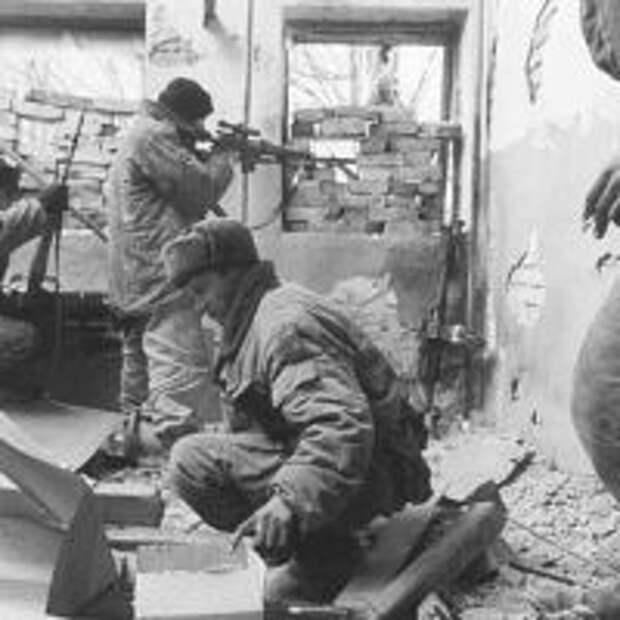 Снайперская война в Чечне
