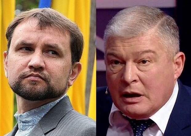 Червоненко обозвал Вятровича в эфире украинского ТВ из-за СС «Галичина»