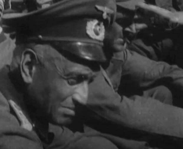 Заботы немецких высших офицеров при сдаче в советский плен