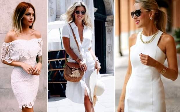 Разнообразие фасонов платьев - разнообразие комплектов белья. /Фото: bla-bla-moda.ru