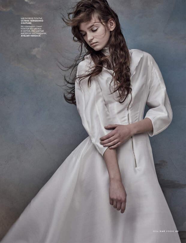 Нежная фотосессия в Vogue Russia