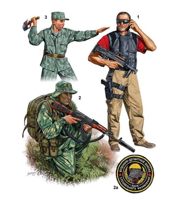 Современный российский спецназ (2)