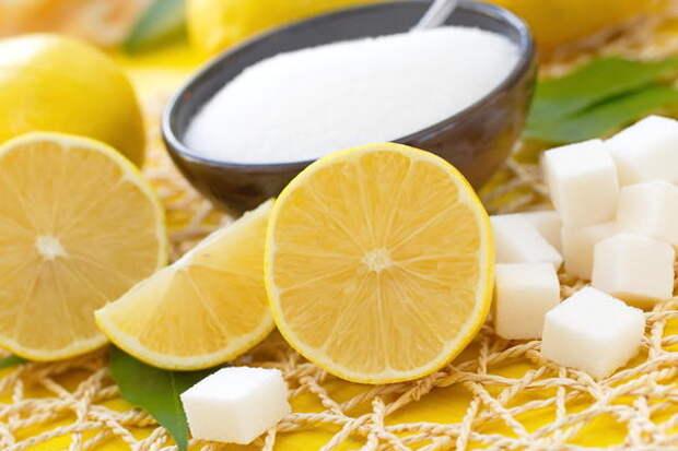 Лимонный сахар