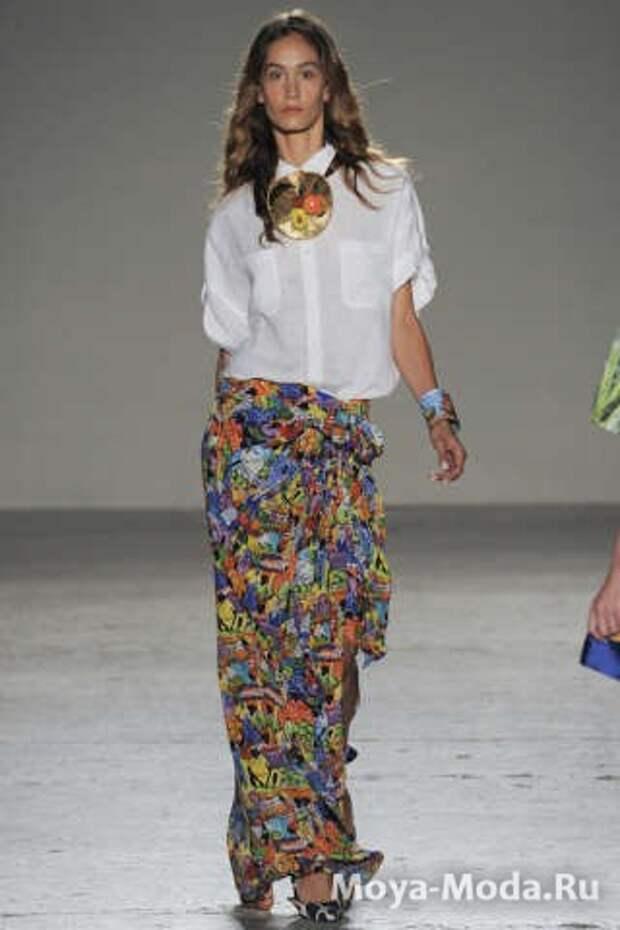 Модные юбки весна-лето 2015 Stella Jean Spring