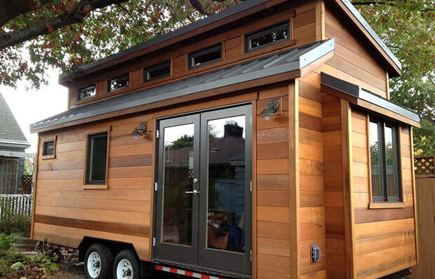Уютный домик из яблони